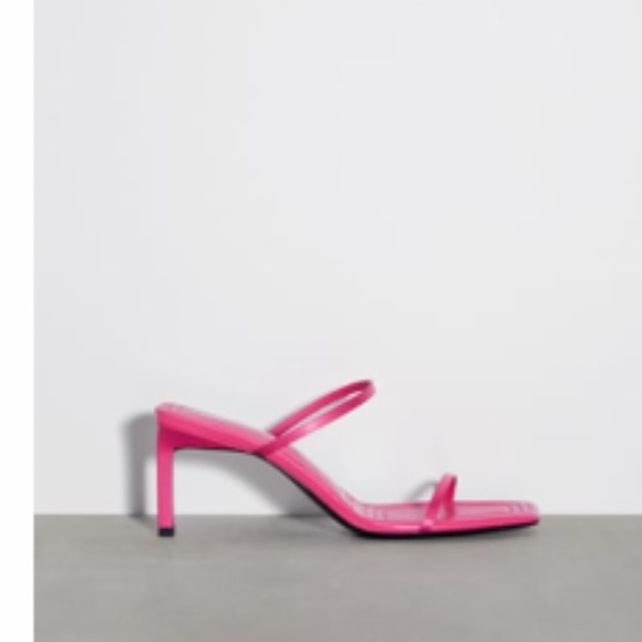 Zara strap slides.